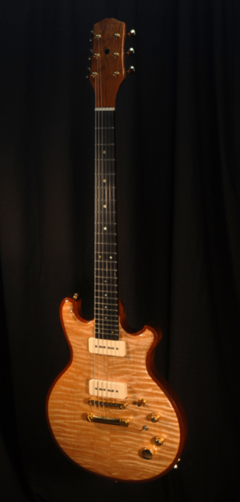 front view of michael mccarten's DC13 double cutaway electric guitar model