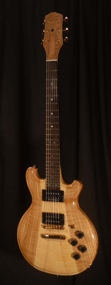 front view of michael mccarten's DC13T thinline double cutaway electric guitar model