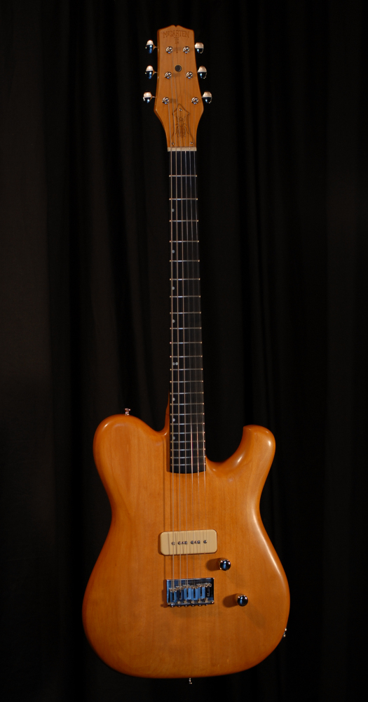 front view of michael mccarten's Telemac single cutaway electric guitar model